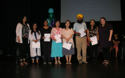 Adult English Language Students Honored at Celebration of Learning Awards