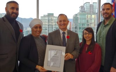 Anti-Gang Program Awarded BC Youth Leadership Award
