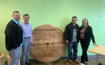 Foundry Abbotsford Holds Indigenous Brushing Ceremony