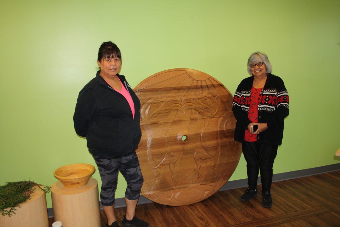 Council Member Brenda Morgan and Chief Alice McKay of the Matsqui Nation.
