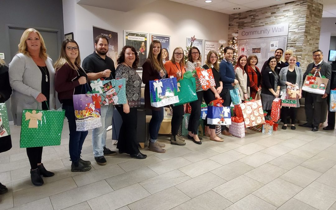 Prospera Gifts Essential Items to the Youth Angel Tree Project