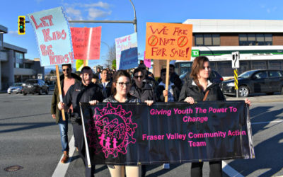 Rally to Mark Sexual Exploitation Awareness Week