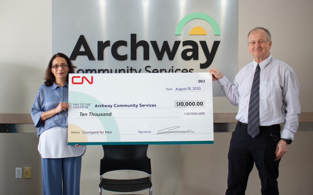 CN Grant to Fund Domestic Violence Prevention Program at Archway
