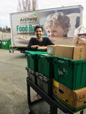 Nick from the Archway Food Bank