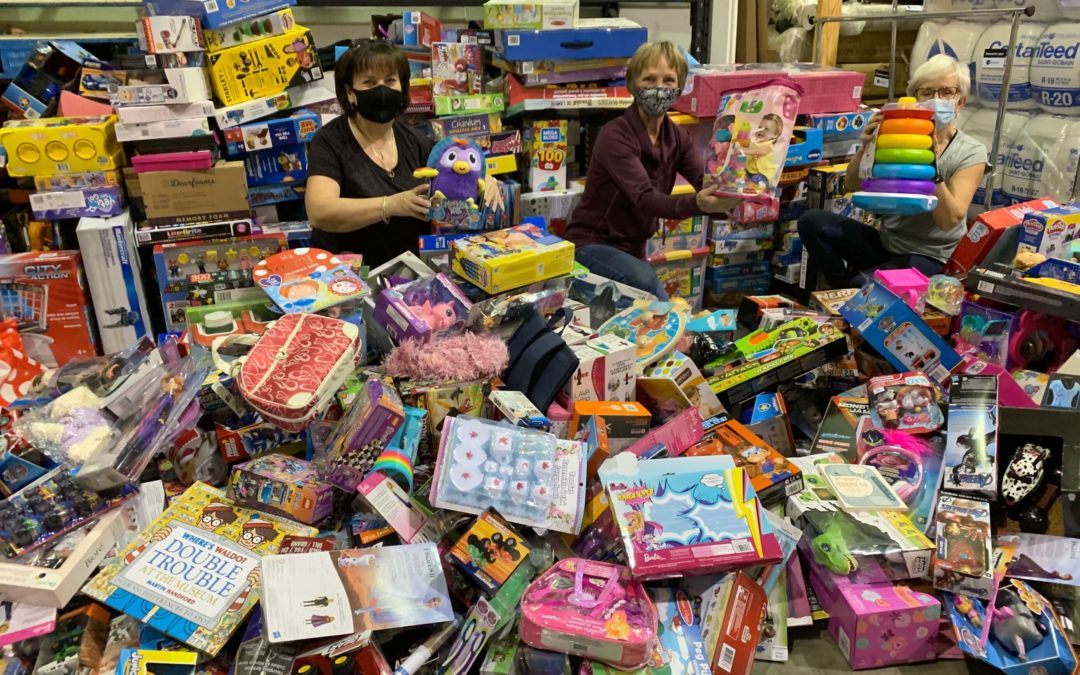 1,800 Gifts Donated for Toys for Tots Despite Event Cancellation